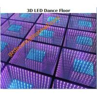 Wholesale 220V 50Hz RGB  Auto Run Control DJ 3D LED  Dance Floor  Aluminum Panel Stage  Lighting from china suppliers