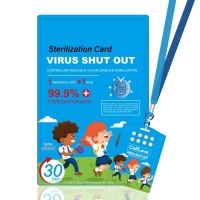 Wholesale Protection Children Anti Bacterial Air Disinfection Sterilization Card from china suppliers
