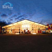 Buy cheap 3000sqm Beautiful Outdoor Exhibition Tents , UV Resistant Car Show Canopy from wholesalers