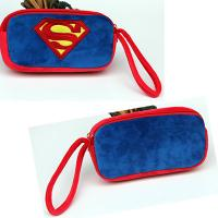 Buy cheap Blue Lovely Cartoon SuperMan Plush Pencil Case for Kids , Children from wholesalers