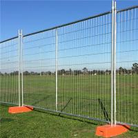 Buy cheap Temporary Safety Fence 2.4 x 2.1M 10Panels 10Concrete 10 Clamps Building from wholesalers