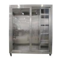 Buy cheap Static Garment Cubicle assembly constructed from 304 stainless steel for clean room from wholesalers