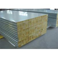 Buy cheap Fire Proof Rock Wool Galvanised Steel Roofing Sheets Environment Friendly from wholesalers