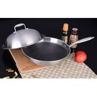 Buy cheap 18/10 Stainless Steel Cookware Chinese Wok Cooking (QW-WO32-24) from wholesalers