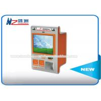 Buy cheap Touch Screen Multimedia Wall Mount Kiosk With Card Reader And Bill Validator from wholesalers