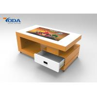 Buy cheap SPCC Profile Shell Touch Screen Desk , Energy Saving Smart Interactive Table from wholesalers
