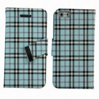 Buy cheap Flip Leather for iPhone 5, with Credit Card Slot from wholesalers