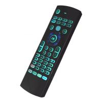 Quality Rechargeable Air Keyboard And Mouse Backlight With Ir Learning RF Remote for sale