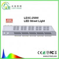 China Meanwell Driver Solar Powered Led Street Lights / Led Road Lamp 250w 130 Lm / W on sale