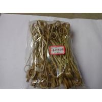 Wholesale 15cm Bamboo Cocktail Picks Skewer With Knotted Ends Bulk Party Appetizers from china suppliers
