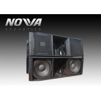 Buy cheap High Power Church Speakers Systems Line Array For Theaters / Auditoriums from wholesalers