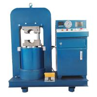 Buy cheap 400 T Hydraulic Automatic Wire Rope Crimping Machine Steel Wire Rope Pressure from wholesalers