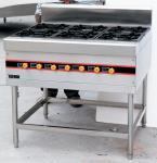 Buy cheap Floor Type LPG Gas Cooking Range / Gas Burner Range BGRL-1280 For Restaurant from wholesalers