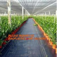 Buy cheap environmental biodegradable pp woven weed control mat, heavy dury pe tarpaulin,Woven Weed Barrier/Weed Control Fabric from wholesalers