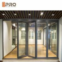 Buy cheap Heat Insulation Aluminum Folding Doors Customized Color 2.0MM Door Frame from wholesalers