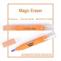 Buy cheap Pink Magic Eraser for Eyebrows Skin Marker Pen Color Remover 10 Seconds from wholesalers