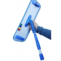 Buy cheap 1.5M Handle Janitorial Cleaning Tools Microfiber Wet Dry Mop from wholesalers