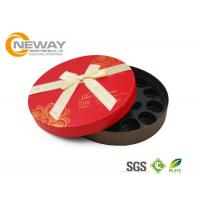 Buy cheap Gold Stamping Hat Flower Gift Box , Cardboard Custom Florist Rose Boxes For Memorial Day from wholesalers