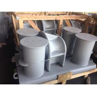 Buy cheap Customized Cast Iron Mooring Cleats Ballards Single / Double / Cross Dock Bollards from wholesalers