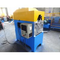 Buy cheap Electric Downspout Roll Forming Machine , 2.2KW Motor Powered Downspout Elbow Machine from wholesalers