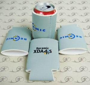 China promotional neoprene foldable can koozie,beer koozie,collapsible koozie on sale