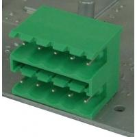 Buy cheap Double Open Plug In Terminal Block Phosphor Bronze M3.0 Steel Zinc Plated from wholesalers