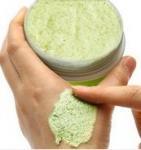 Buy cheap SPA salon supply body scrub cream skin purify exfoliation cream body massage cream cucumber body scrub from wholesalers