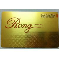 Buy cheap factory price popular business metal card from wholesalers
