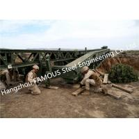 Buy cheap Easy Installation Temporary Steel Structure Bailey Bridge Military Application from wholesalers