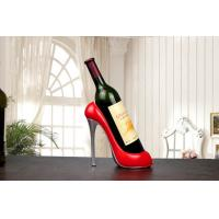 Buy cheap Non Toxic Resin Ornament Crafts , Custom Color Wine Bottle Holder from wholesalers