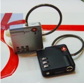 Wholesale 3 Digits TSA Combination Padlock Theftproof Lock TSA-529 from china suppliers