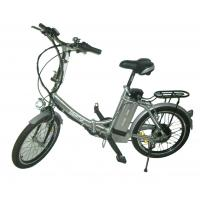 Buy cheap 200W Brushless Motor Under voltage protection Incorporated wheel Full-automatic gearbox and Torque sensor folding electric bike from wholesalers