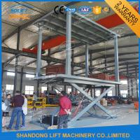 Buy cheap 5T 3M in Floor Scissor Type Car Double Layer Lift for Sale from wholesalers