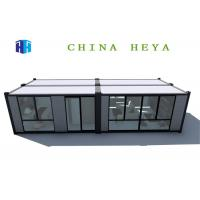 Buy cheap Iso Flat Pack Prefab House , 40 Ft Prefab Shipping Container Homes Anti Impact from wholesalers