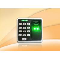 Buy cheap Security system, Fingerprint access control systems with ID card reader from wholesalers