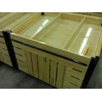 Buy cheap Supermarket accessories wood, pine wood pile head from wholesalers