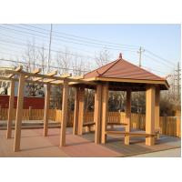 Buy cheap Ourdoor WPC Construction , Sunsheds WPC Pergola For Rest And Decoration from wholesalers