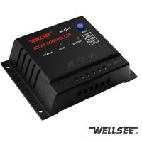 Buy cheap WELLSEE solar charge regulator 15A,pwm charge controller 15A from wholesalers