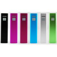 Wholesale Lipstick Portable USB Power Bank 2400 mAh For Nokia / Sony Ericsson from china suppliers