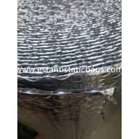 Buy cheap Dust Free Silver Bubble Wrap Insulation , 96-97% Reflective Foil Bubble Insulation from wholesalers