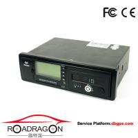 Buy cheap Black Vehicle Traveling Driving Recorder GPS device support GSM GPRS communication modes from wholesalers
