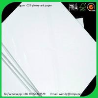 Buy cheap Good Quality High Brightness 300/350gsm Glossy/Matt C2s Art Paper/C1S couche paper from wholesalers