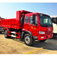 Buy cheap Dual Axles 4x2 8 Ton Tipper Truck , 4X2 Light Duty Commercial Dump Trucks from wholesalers
