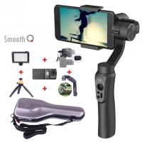 Buy cheap Smooth Q smartphone Handheld 3 Axis gimbal stabilizer action camera selfie phone steadicam for iphone Sumsung Gopro from wholesalers