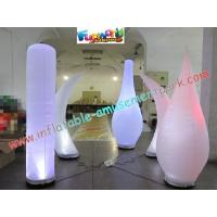Wholesale Inflatable Led Color Changing Lighting Decoration Pillar from china suppliers