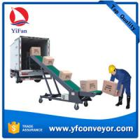 Buy cheap Mobile loading unloading belt conveyors (manual adjust height) from wholesalers