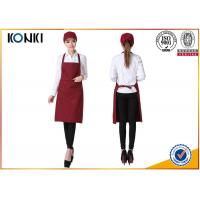 Buy cheap Portable Custom Cooking Aprons , Waitress Personalized Chef Aprons from wholesalers