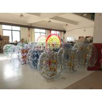 Buy cheap 1.50M Inflatable Amusement Park Roll Inside Soccer Bumper Knocker Ball Entertainment Game from wholesalers