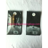 Wholesale 1 – 8 Colors Printing Cigar Packaging Bag With Slid Zip Lock / Humidifier System from china suppliers