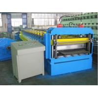Buy cheap coated color corrugated roof machine from wholesalers